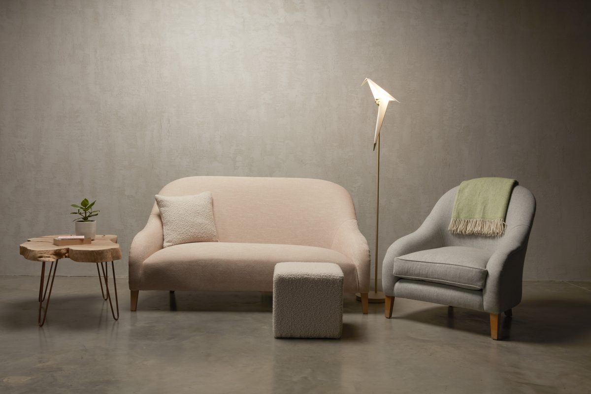 Hart sofa and Hart Chair