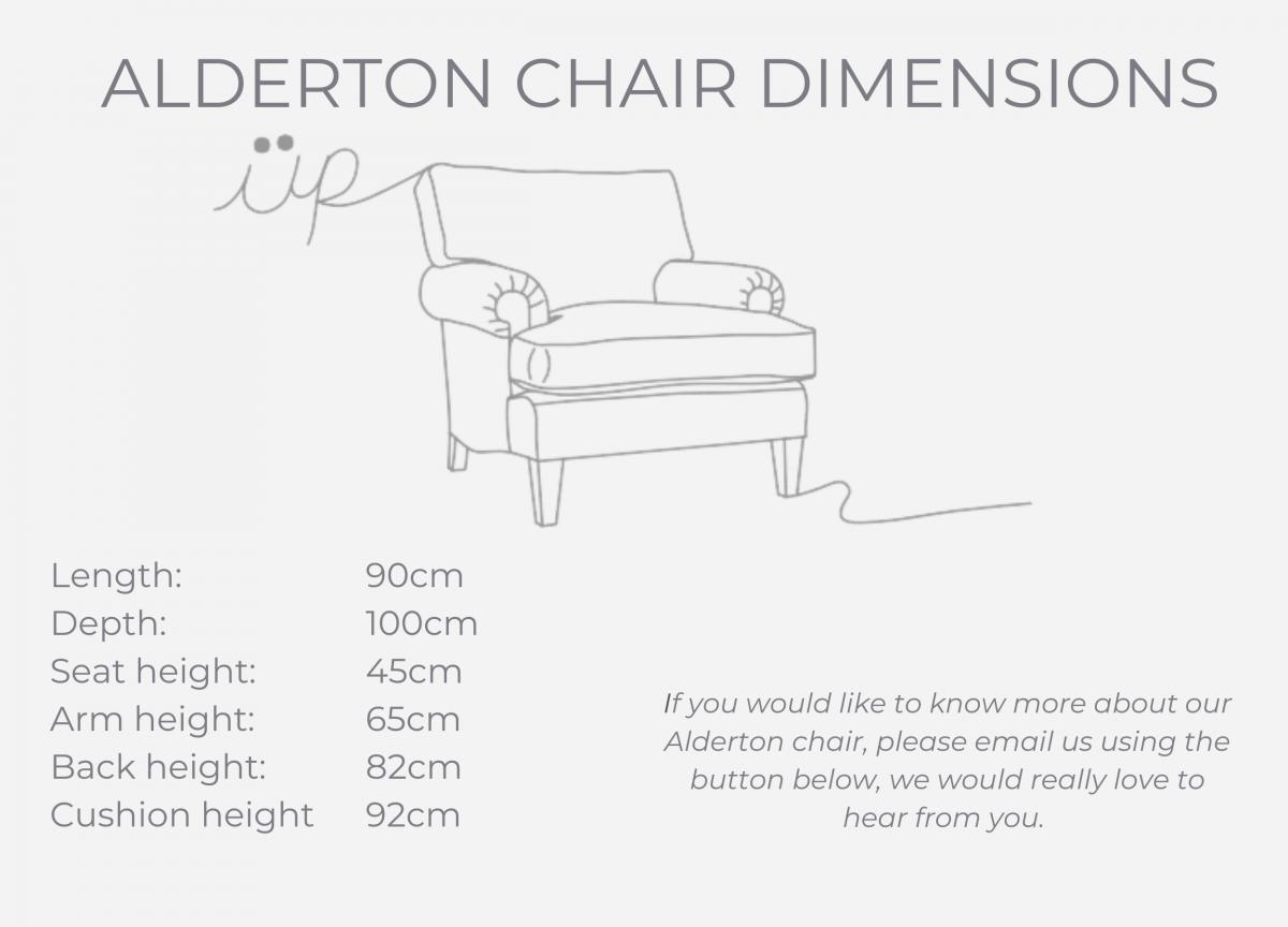 ALDERTON CHAIR dimensions