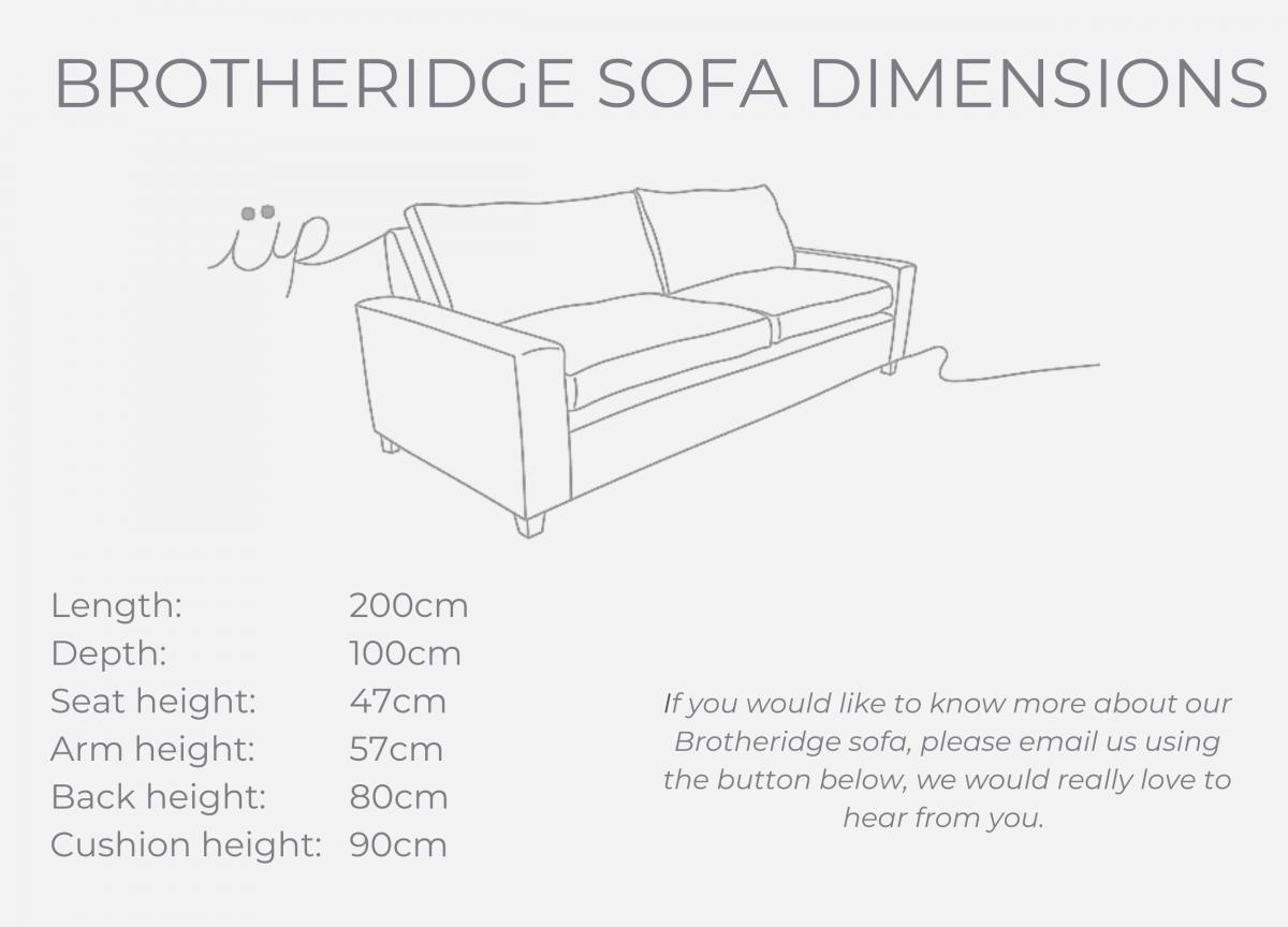 Botheridge sofa dimensions