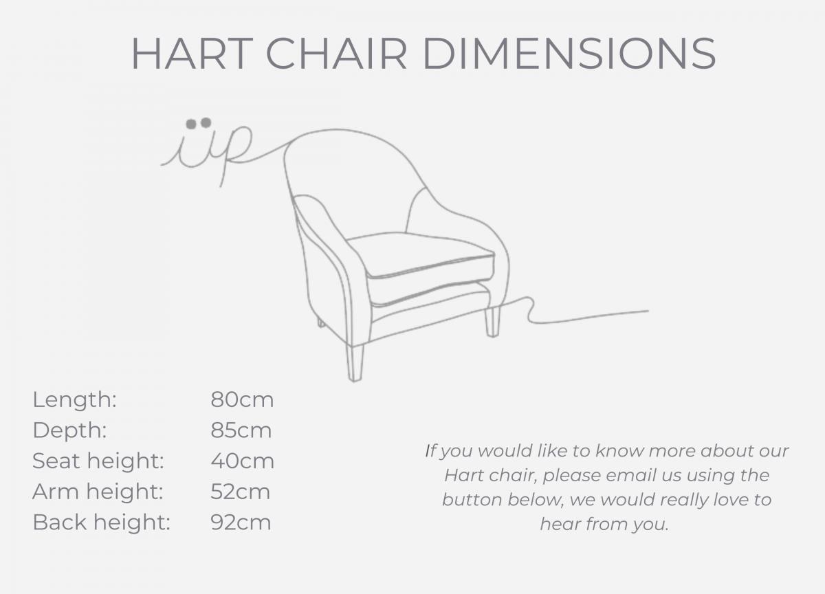 HART CHAIR dimensions