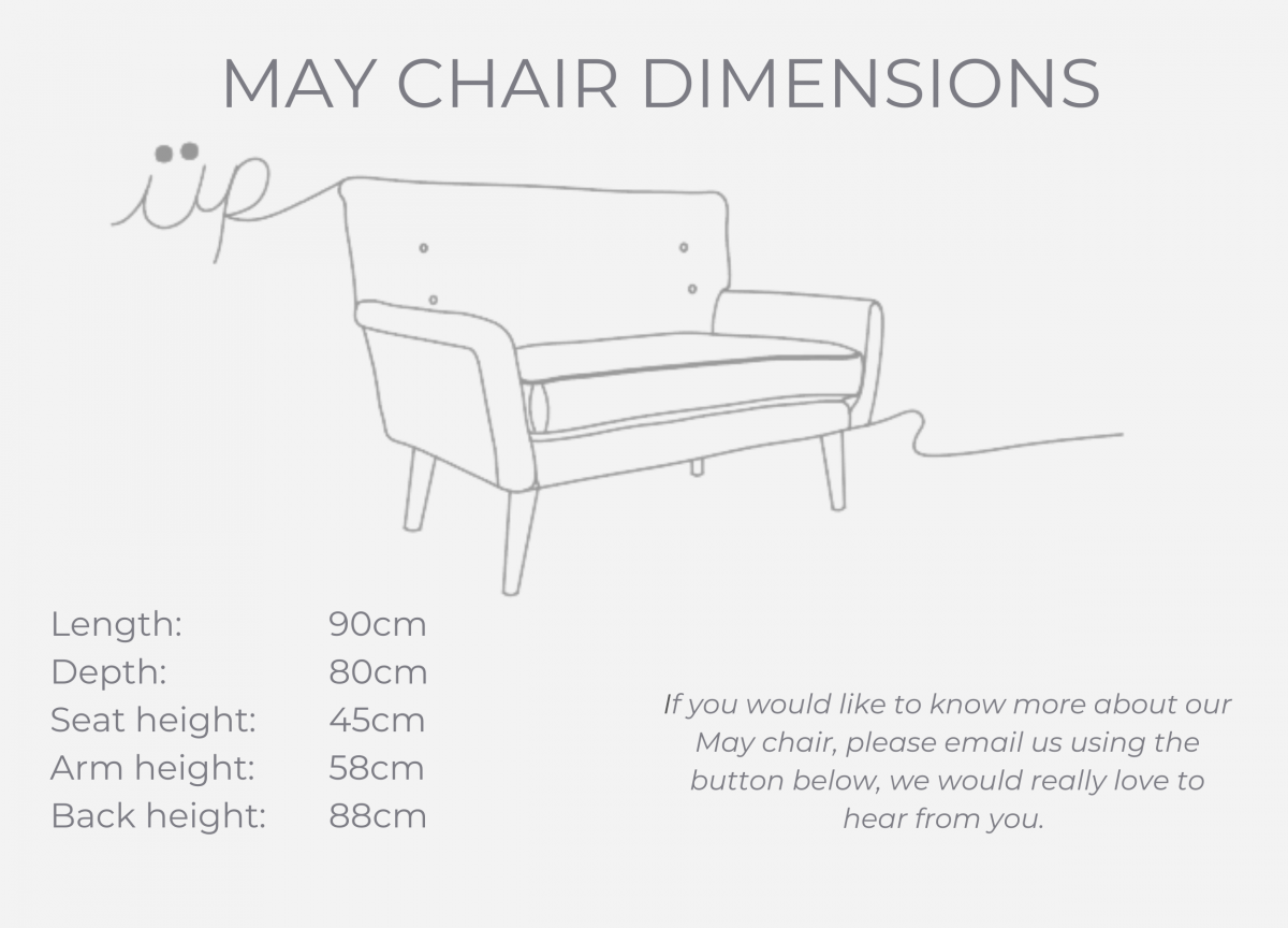 MAY CHAIR dimensions