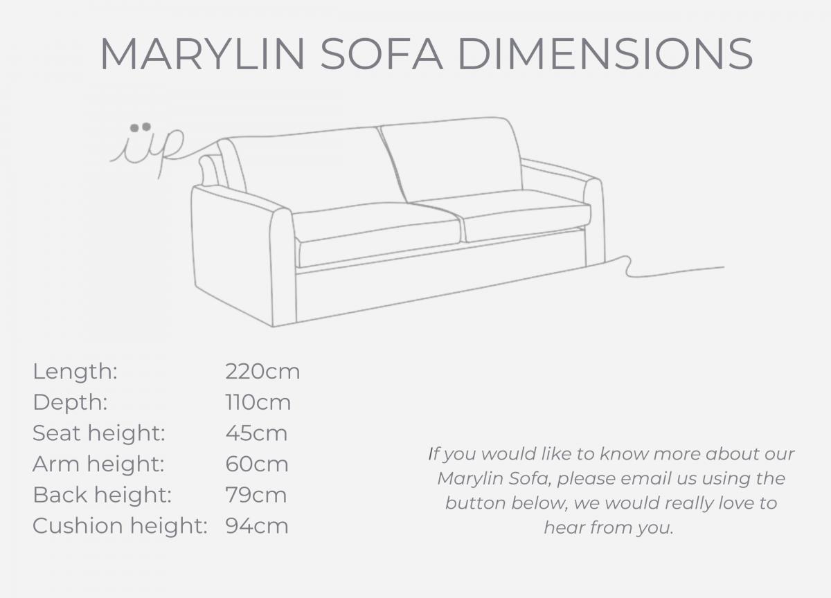 Marylin Sofa dimensions (1)