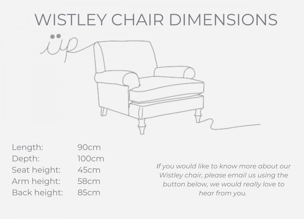 WISTLEY CHAIR dimensions