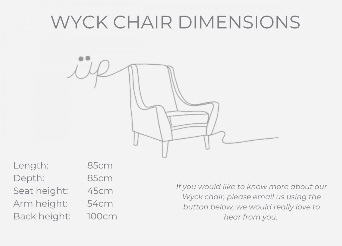 WYCK CHAIR dimensions