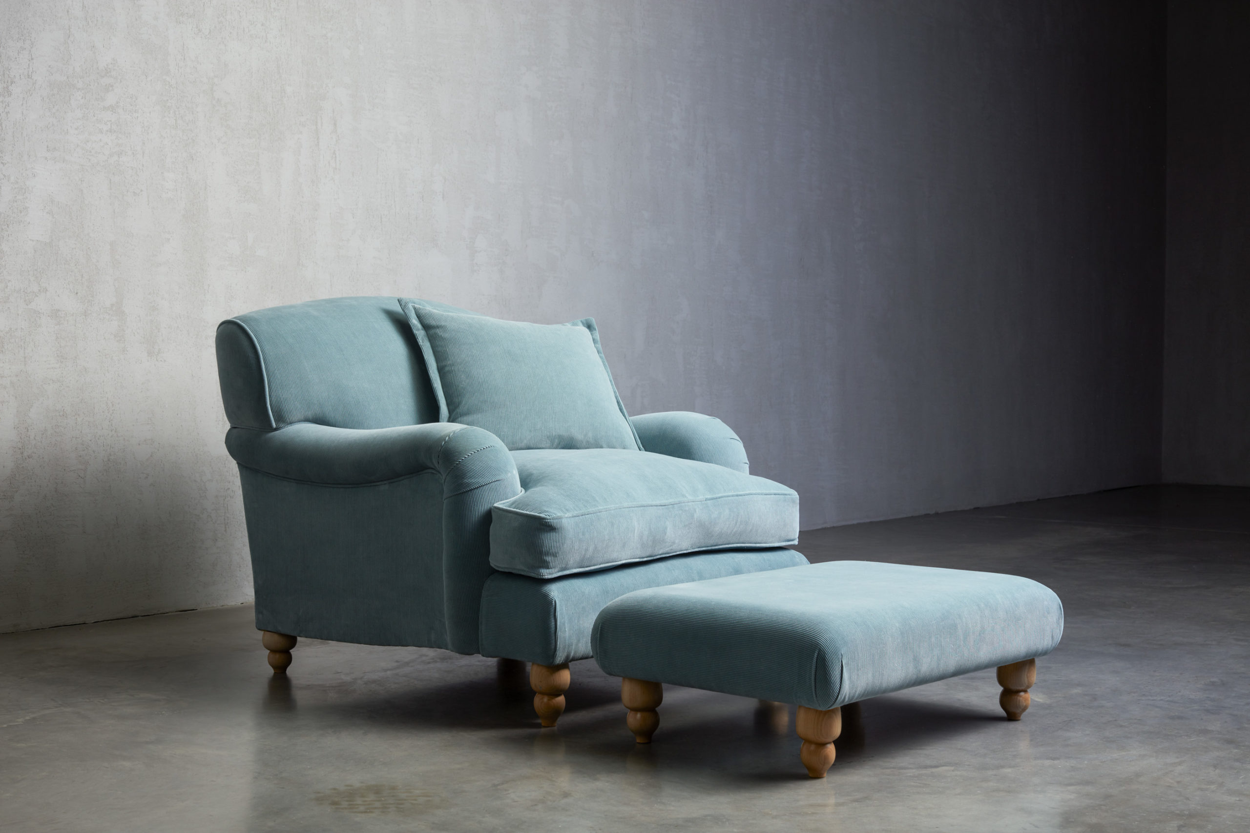 Wells Chair made by UP sofa makers